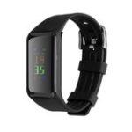 New Bakeey K1 Plus Heart Rate Blood Pressure Monitor IP67 Waterproof Call Message Remind Smart Watch