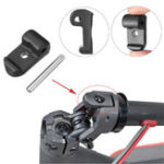 New BIKIGHT Black Shaft Locking Buckle Scooter Replacement Pats For Xiaomi M365 Electric Scooter
