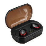 New [Bluetooth 5.0] True Wireless Earbuds TWS Stereo Bilateral Calls IPX7 Waterproof Earphone Headphones with 2000mAh Charing Box Power Bank