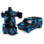 New 1/18 2 In 1 Rc Car Sports Wireless Transformation Robot Models Deformation Fighting Toys