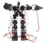 New DIY 17DOF RC Dancing Robot Educational Walking Race Robot Kit