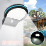 New 38 LED Solar Power Motion Sensor Garden Security Lamp Outdoor Waterproof Light
