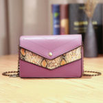 New Women Fashion Trend Faux Leather Snake Pattern Shoulder Bag