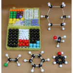 New 267Pcs Chemistry Organic Inorganic Molecular Structure Model Set 116 ball and 150 stick Medical Model