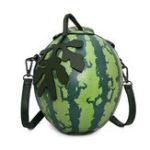 New Women Watermelon Styling Bag Crossbody Bag Cute Shoulder Bag