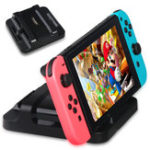New DOBE TNS-853A Dual Charging Dock Stand Charger Station for Nintendo Switch Game Console