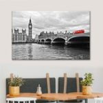 New City Modern Canvas London Scenery Print Paintings Wall Art Picture Decor Unframed