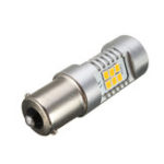 New 1156 BAU15S LED Turn Signal Lights Replacement Bulb 4.8W 21SMD Error Free Amber