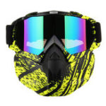 New Detachable Full Face Mask Goggles Motorcycle Motocross Ski Riding Cycling Protector Outdoor