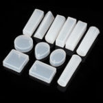 New 15pcs Cuboids Pendant Silicon Mould For Epoxy Resin Jewelry Beads Craft Making Mold
