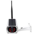 New Solar Powered Camera HD 1080P Wireless WiFi PIR Waterproof Security Outdoor IP67