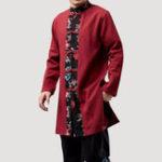New Mens 100% Linen Loose Comfy Long Sleeve Casual Coats