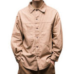 New Mens 100% Cotton Double Pockets Casual Shirts