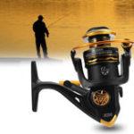New JK1000-7000 5.1/5.2:1 12BB Spinning Reels Saltwater Freshwater Left/Right Hand Fishing Reel