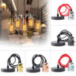 New E27 Retro Vintage Ceiling Pendant Light Edison Bulb Adapter Lampholder Hanging Fixture
