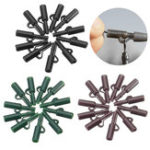 New 10Pcs/Set Lead Clip Set With Quick Change Swivels Carp Fishing Tool Tackle Rigs