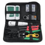 New LAN Network Cable Tester Crimp Crimper Plier Kit Cat5 RJ45 RJ11 RJ45 Hand Tool