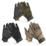 New 1 Pair Outdoor Tactical Gloves Men Army Military Sports Climbing Cycling Fitness Anti-skid Gloves