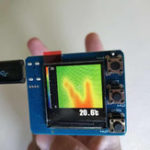 New AMG8833 IR 8×8 Infrared Thermal Imager ArrayTemperature Sensor Module 7M Farthest Detection Distance