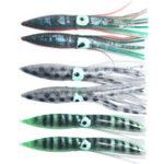 New ZANLURE 2Pcs/Set 11cm 5g Octopus Artificial Soft Bait Long Shot Squid Pesca Bait Sea Fishing Lure