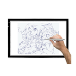 New Huion A2 LED Light Pad Tracing Copy Board Ultra Thin Light Pads Professional Animation Tracing Light Boxes Panels Drawing