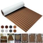 New 8 Styles 900x2000x5mm Marine Flooring Faux Teak EVA Foam Decking Sheet