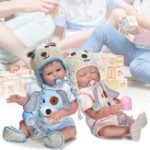 New 19″ Full Body Silicone Baby Doll Lifelike Reborn Boy/Girl Infant Clothing Toys