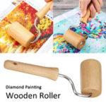New 5D Diamond Painting Tool Set Wood Roller DIY Diamond Paintings Accessories