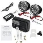 New Bluetooth Audio FM Radio MP3 Stereo Speaker Sound System Motorcycle Bike ATV UTV