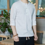 New Mens Fashion Cotton Casual Shirts