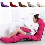 New 205CM 3 Folding Lazy Sofa Chair Portable Stylish Couch Bed
