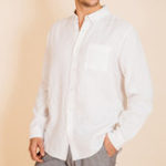 New Mens Cotton Breathable Comfy Solid Color Button down Shirts