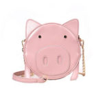 New Women Cute Pig Shape Bag Crossbody Bag Shoulder Bag