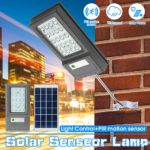 New 10W LED Solar Light Road Street Wall Lamp Outdoor Path Waterproof