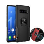 New Bakeey Protective Case For Samsung Galaxy S10 Plus 6.4″ Ring Grip Bracket Magnetic Adsorption Back Cover
