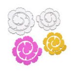 New 2 in 1 Flower Rose Scrapbooking DIY Photo Album Card Paper Art Craft Maker Metal Cutting Dies