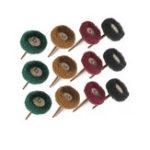 New 12pcs Electric Dremel Dill Grinding Accessories Abrasive Wheel Nylon Fiber Engraving Sanding Head Buffing Polishing Wheel