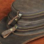 New Men Genuine Leather Large Capacity Crossbodybag