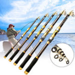 New Carbon Fiber Fishing Rod Outdoor Camping Fishing Tools Portable Fishing Accessories