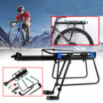 New BIKIGHT Alloy Bike Cargo Rack Disassembly Aluminum Alloy Rack Rear Shelf Seat Luggage Bracket Max Load 75kg