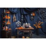 New 5x7FT Vinyl Halloween Pumpkin Ghost Photography Backdrop Background Studio Prop