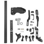 New Upgrade Black Metal Guide Kit For LeHui Vector Gel Ball Blasting Replacement Accessories