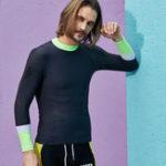 New Quick Dry Long Sleeve Sunscreen Swimwear
