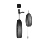 New Rechargeable Wireless Lavalier Lapel Microphone for Notebooks Cameras Speakers for Teaching Speech Meeting