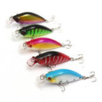 New Bobing 5Pcs/Set 6.5CM 8.4G Carp Fishing Lure Wobbler Pesca Fish Minnow Bass Lure Crankbait
