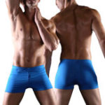 New Polyester Quickly Dry Solid Color Swimwear