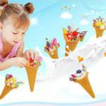 New Jandoon DIY Crystal Mud DIY Clay Simulated Iceam Cream Toy Slime Food Play Toy