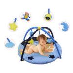New Blue Bear Baby Play Mat Activity Gym Newborn Infant Game Playmat Crawling Carpet