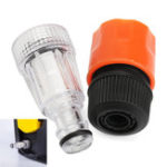 New Universal Plastic 3/4 Inch Washer Water Filter Pressure Connection Fitting for AR Blue Clean