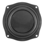 New LEORY 4 Inch Loudspeaker DIY Bass Speaker Vibration Membrane Diaphragm Passive Woofer Plate